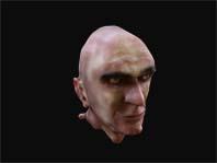 3-D human head